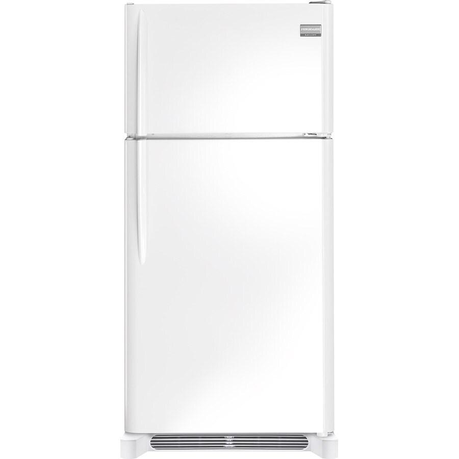 Frigidaire Gallery 18.1-cu ft Top-Freezer Refrigerator (White)
