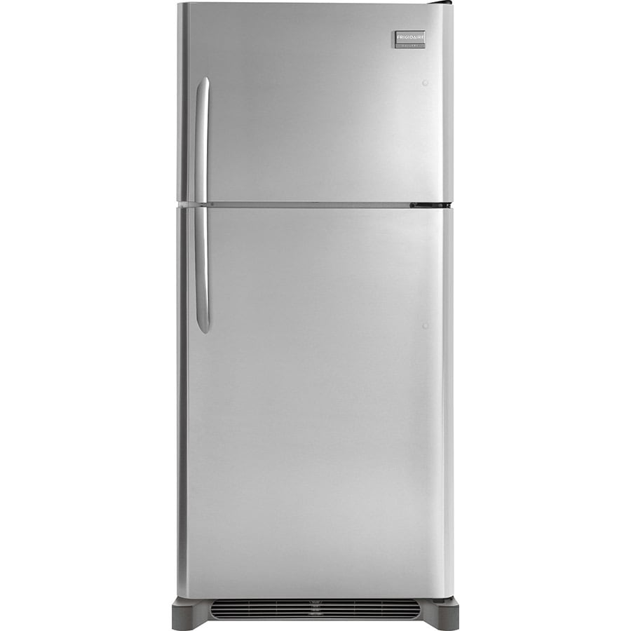 Frigidaire Gallery 18.1-cu ft Top-Freezer Refrigerator (Smudge-Proof Stainless Steel)
