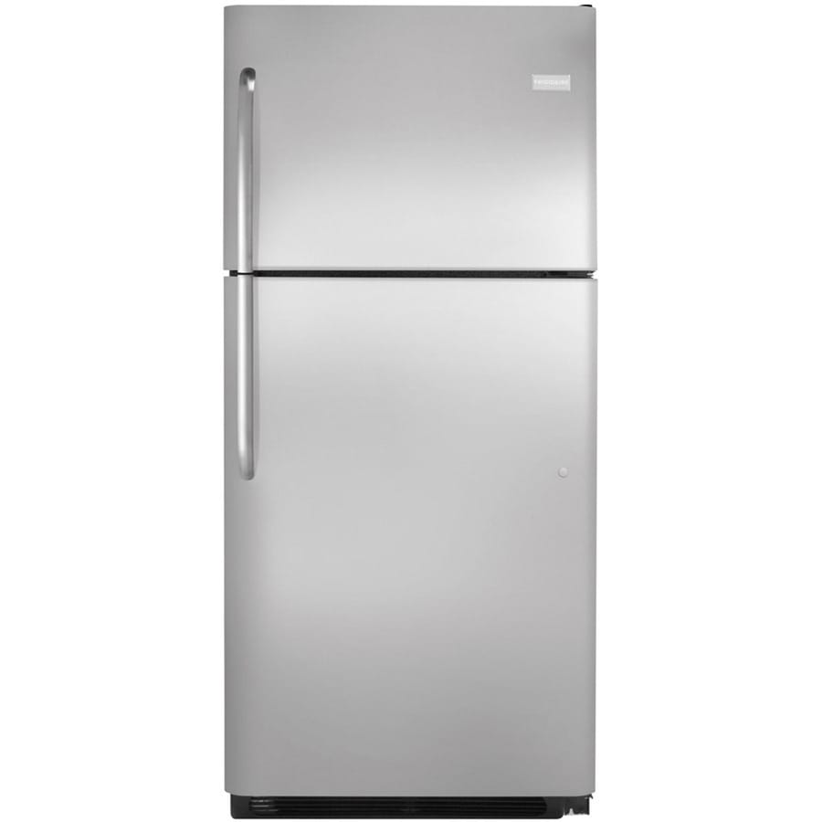 Frigidaire 20.5-cu ft Top-Freezer Refrigerator (Easycare Stainless Steel) ENERGY STAR