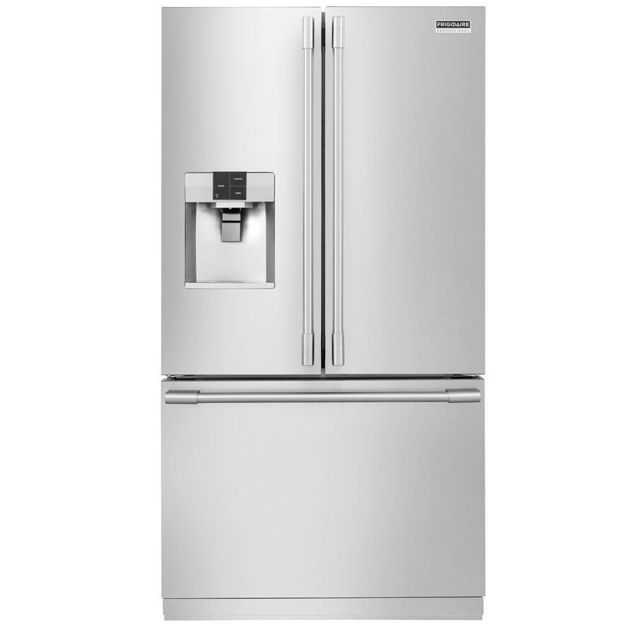 Frigidaire Professional 27.7-cu ft French Door Refrigerator with Dual Ice Maker (Smudge-Proof Stainless Steel)