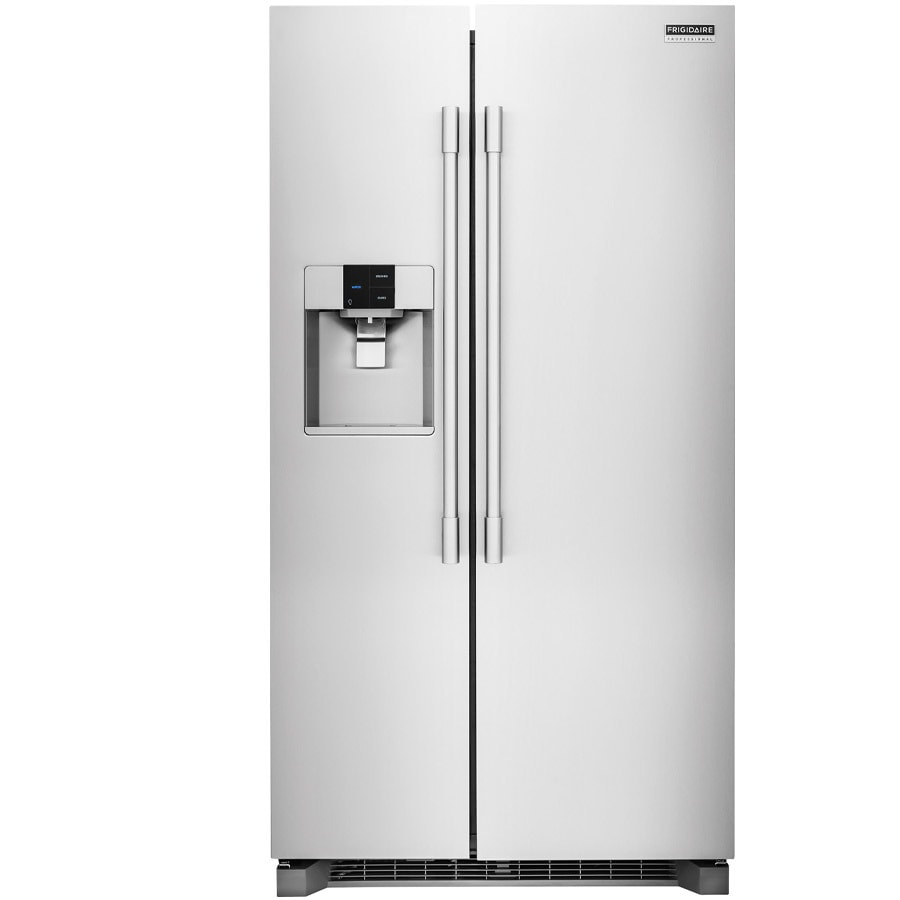 Frigidaire Professional 25.6-cu ft Side-by-Side Refrigerator with Ice Maker (Smudge-Proof Stainless Steel)