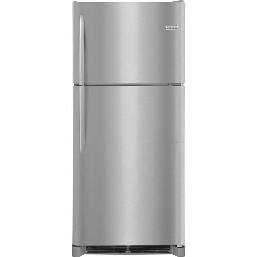 Frigidaire Gallery 20.4-cu ft Top-Freezer Refrigerator (Smudge-Proof Stainless Steel)