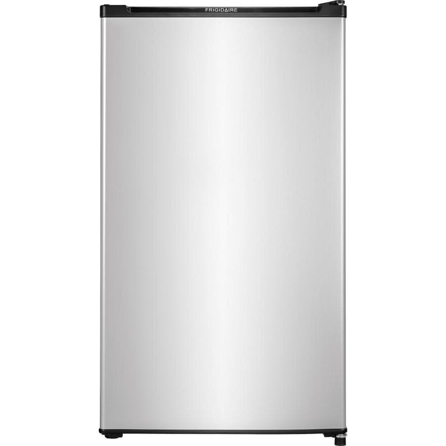 Frigidaire 3.3-cu ft Freestanding Compact Refrigerator (Silver Mist) ENERGY STAR
