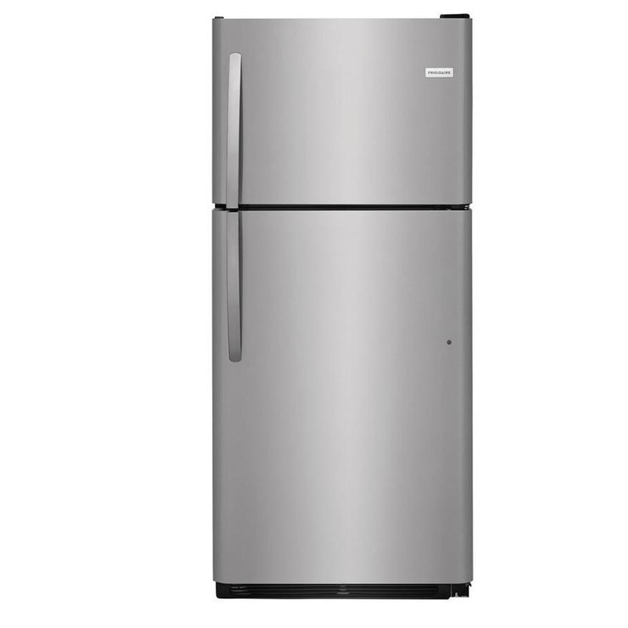 Frigidaire 20.4-cu ft Top-Freezer Refrigerator (EasyCare Stainless Steel)