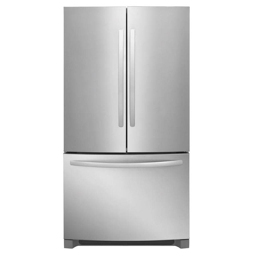Frigidaire 27.6-cu ft French Door Refrigerator with Single Ice Maker (Stainless Steel) ENERGY STAR
