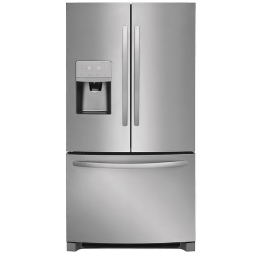 Frigidaire 26.8-cu ft French Door Refrigerator with Ice Maker (EasyCare Stainless Steel) ENERGY STAR at Lowes.com