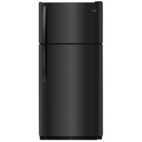 Frigidaire 18-cu ft Top-Freezer Refrigerator (Black)
