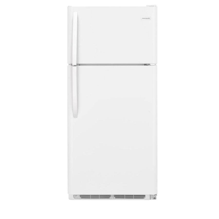 Frigidaire 18-cu ft Top-Freezer Refrigerator (White) ENERGY STAR