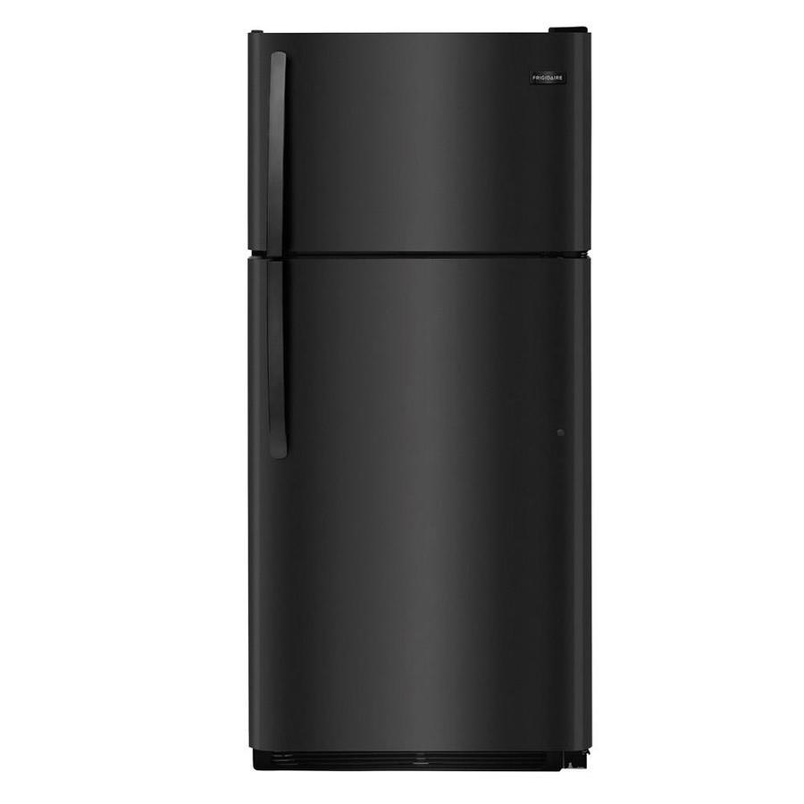 Frigidaire 18-cu ft Top-Freezer Refrigerator  (Black) ENERGY STAR
