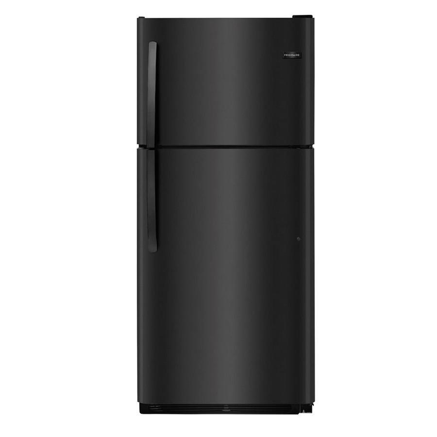 Frigidaire 20.4-cu ft Top-Freezer Refrigerator (Black) ENERGY STAR