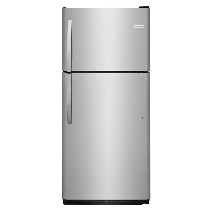 Frigidaire 20.4-cu ft Top-Freezer Refrigerator (Stainless steel) ENERGY STAR