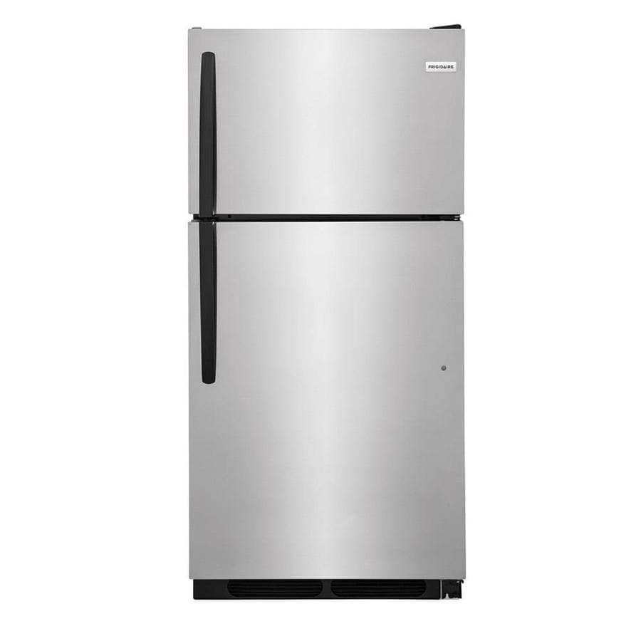 Frigidaire 14.5-cu ft Top-Freezer Refrigerator (Stainless steel) ENERGY STAR