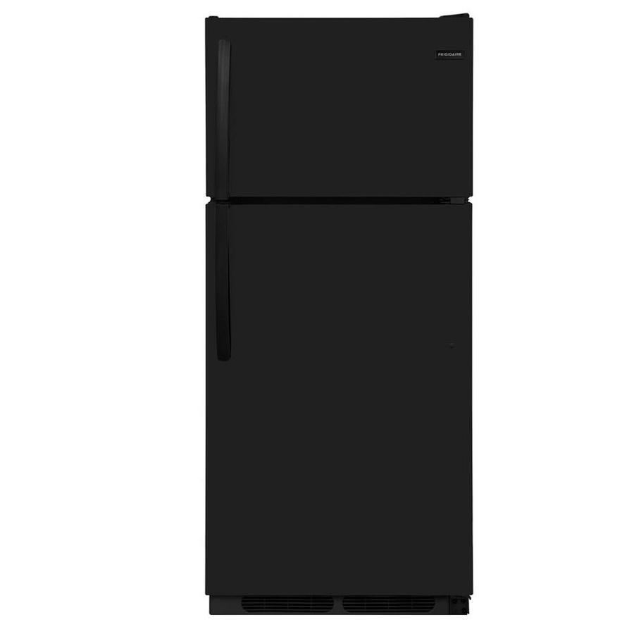 Frigidaire 16.3-cu ft Top-Freezer Refrigerator (Black) ENERGY STAR