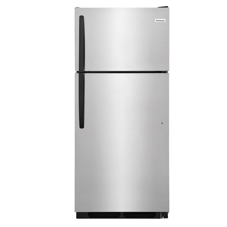 Frigidaire 16.3-cu ft Top-Freezer Refrigerator (Stainless steel) ENERGY STAR