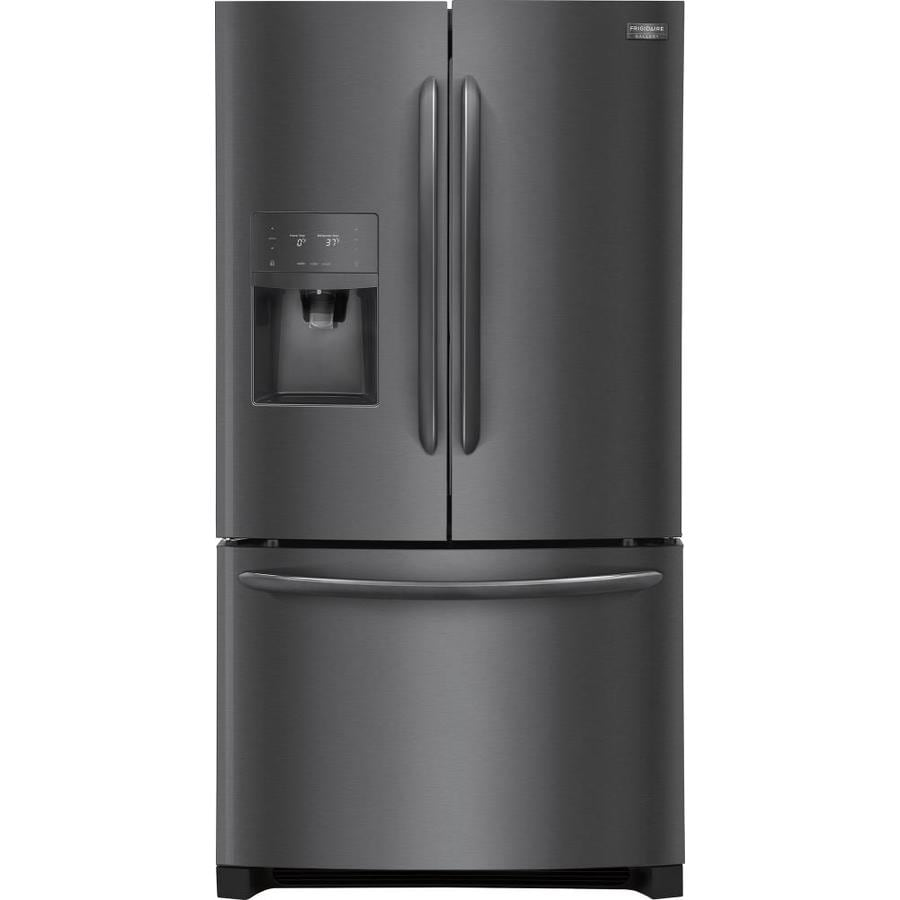 Shop Frigidaire Gallery 268 Cu Ft French Door Refrigerator With Ice