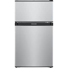 Frigidaire 3.1-cu ft Freestanding Mini Fridge Freezer Compartment (Silver Mist)