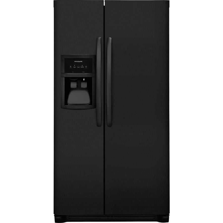 Frigidaire 22-cu Ft Side-by-Side Refrigerator With Ice