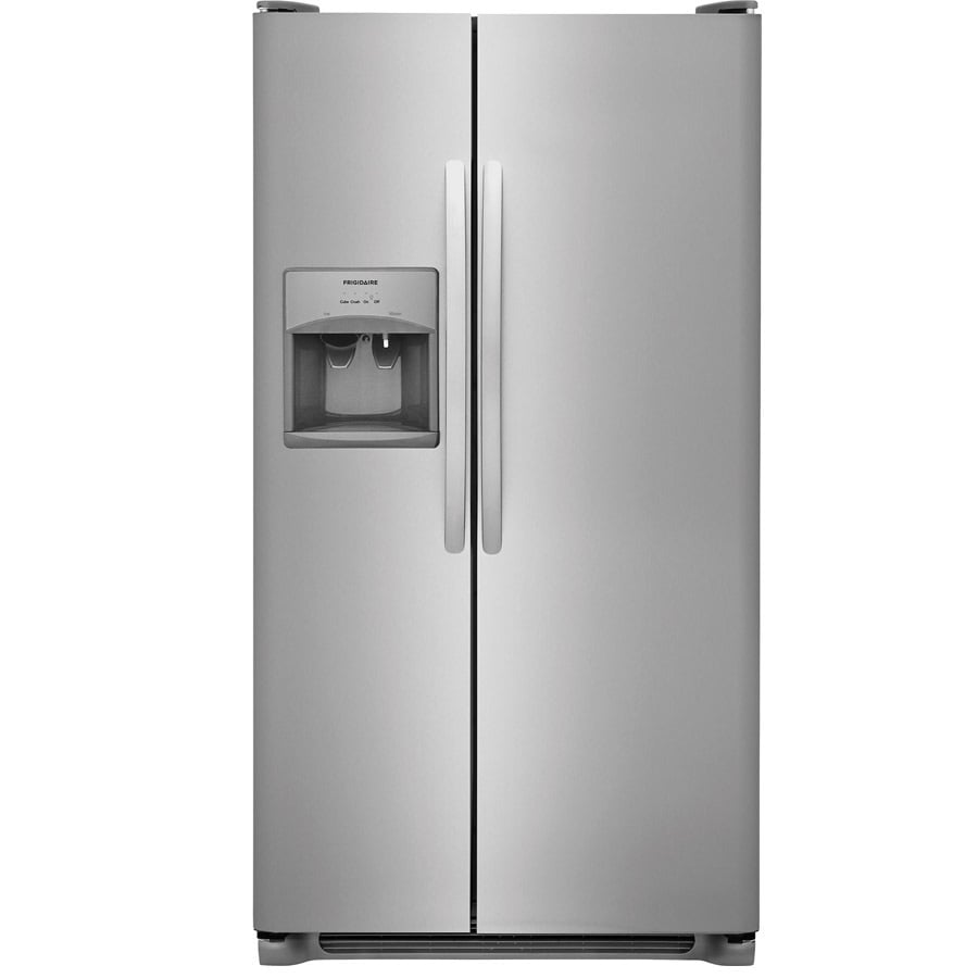 Frigidaire 22 Cu Ft Side By Side Refrigerator With Ice