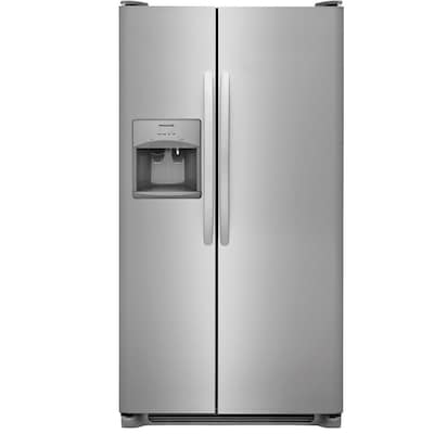 Frigidaire 25 5-cu ft Side-by-Side Refrigerator with Ice