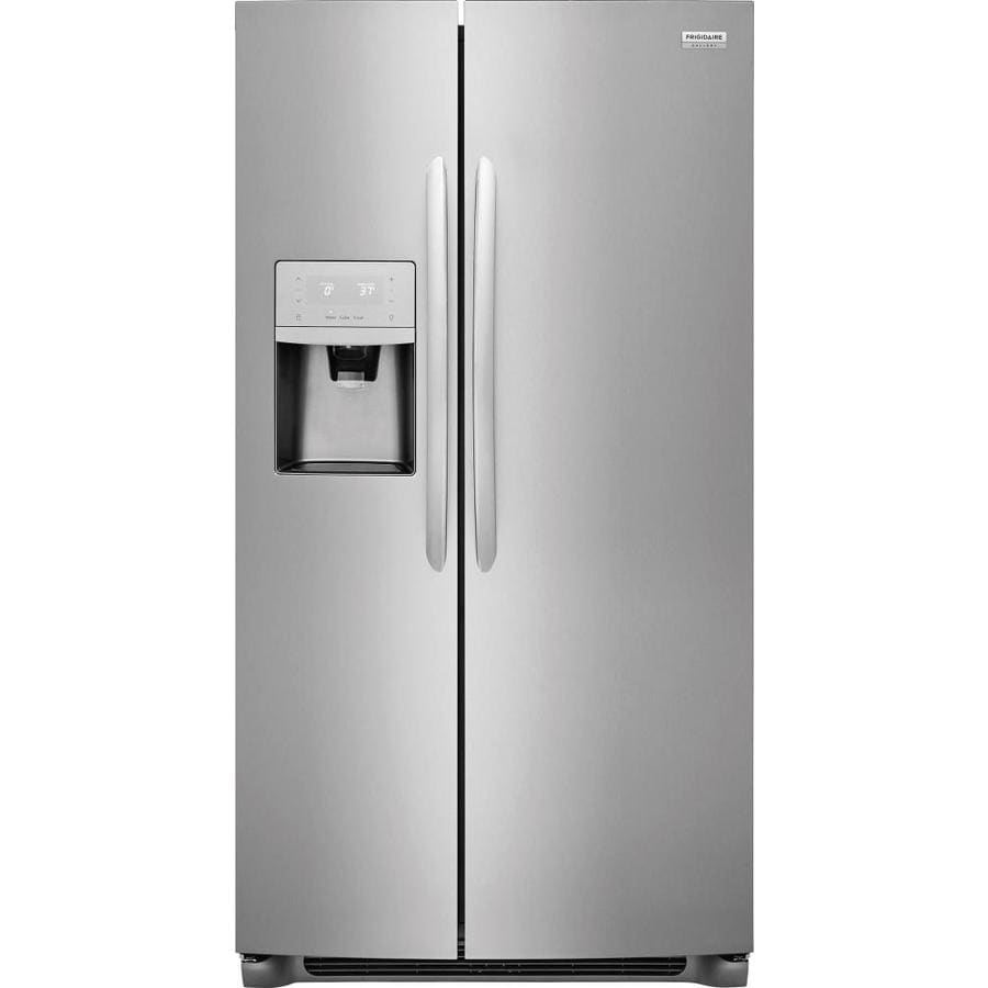 Frigidaire Gallery 22 2 Cu Ft Side By Refrigerator With Ice Maker