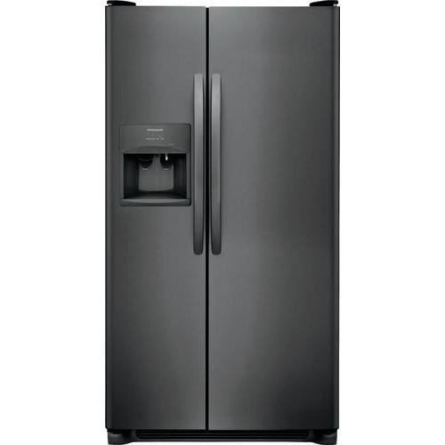Frigidaire 25.5-cu ft Side-by-Side Refrigerator with Ice ...