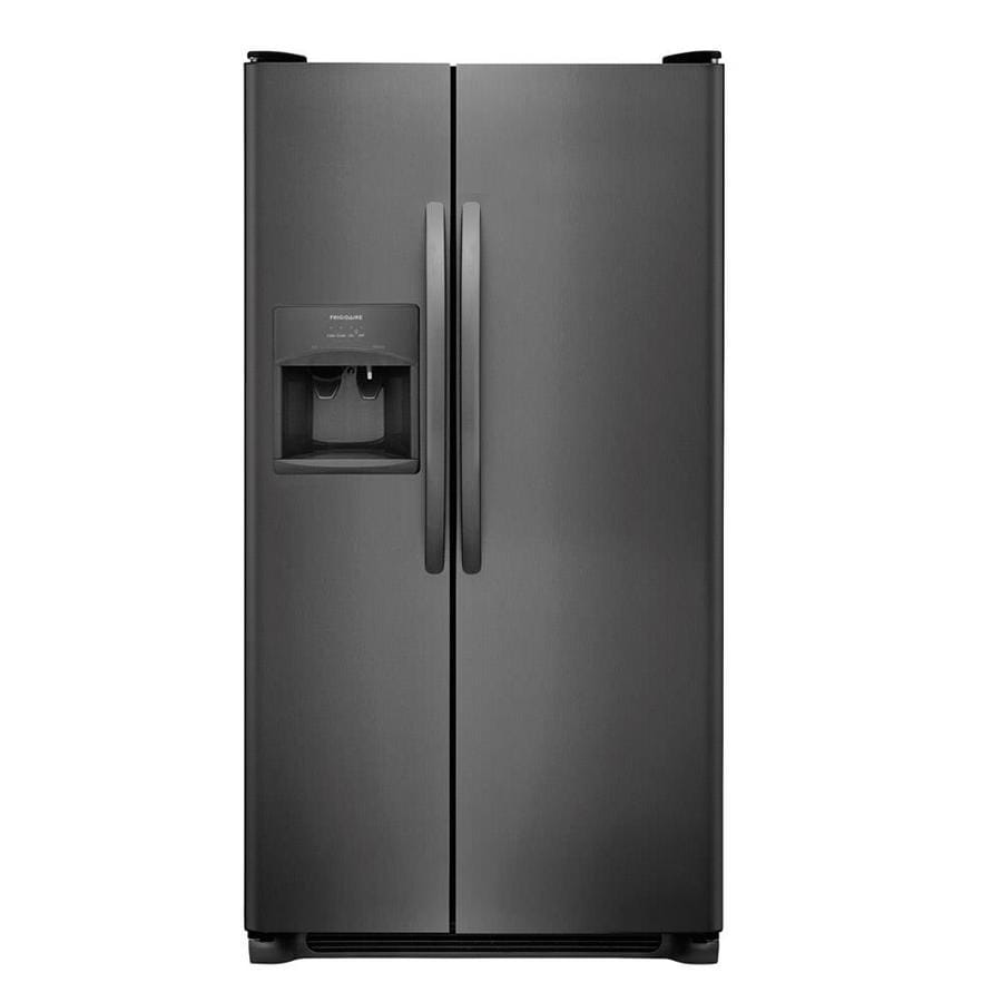 Frigidaire 25 5 Cu Ft Side By Side Refrigerator With Ice