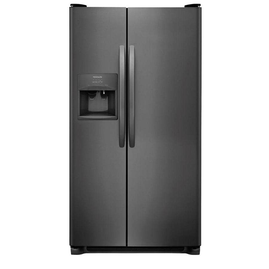 Frigidaire 22 Cu Ft Side By Refrigerator With Single Ice Maker