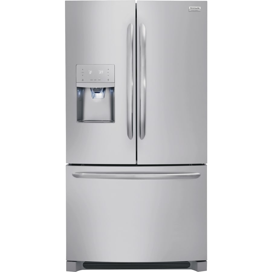 Frigidaire Gallery 21.7 Cu Ft Counter Depth French Door Refrigerator With  Dual Ice Maker