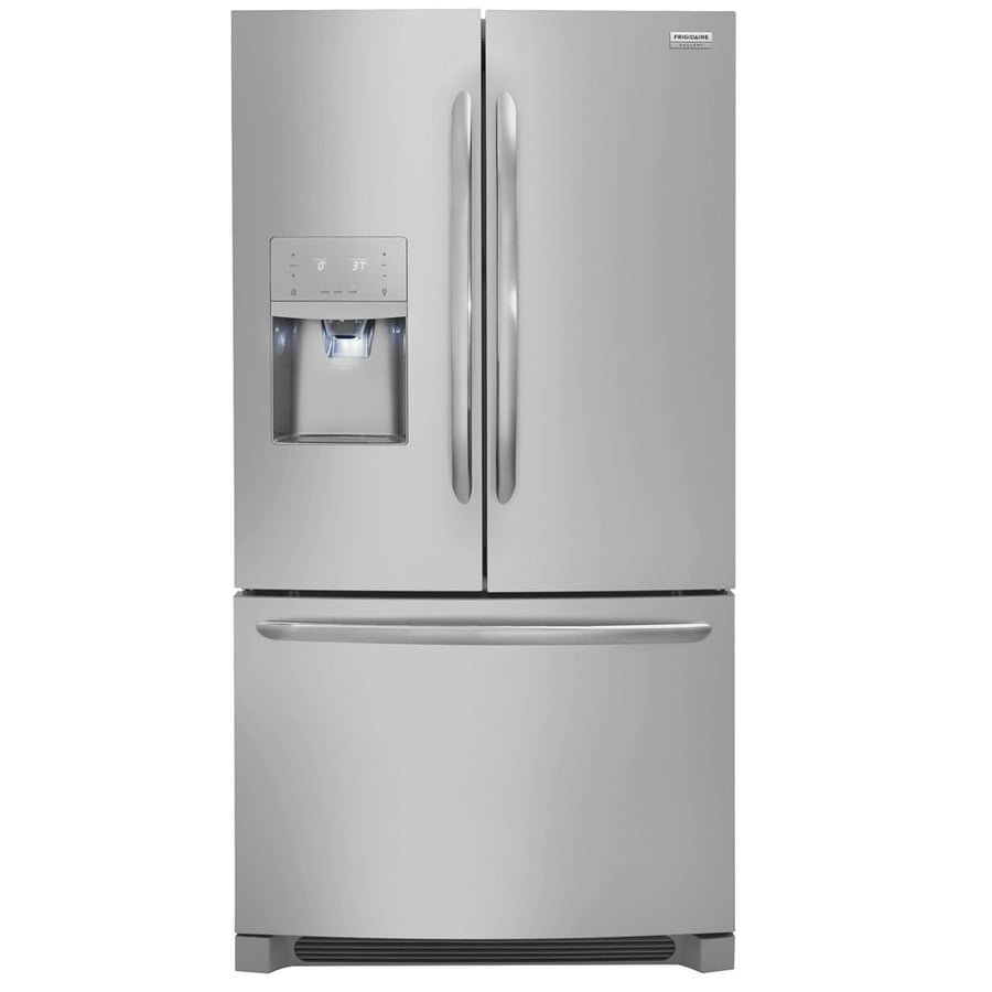 Charmant Frigidaire Gallery 26.8 Cu Ft French Door Refrigerator With Dual Ice Maker  (Smudge