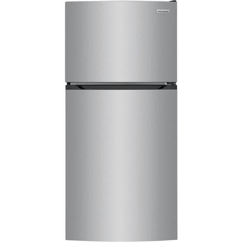Frigidaire 13 9 Cu Ft Top Freezer Refrigerator Brushed Steel