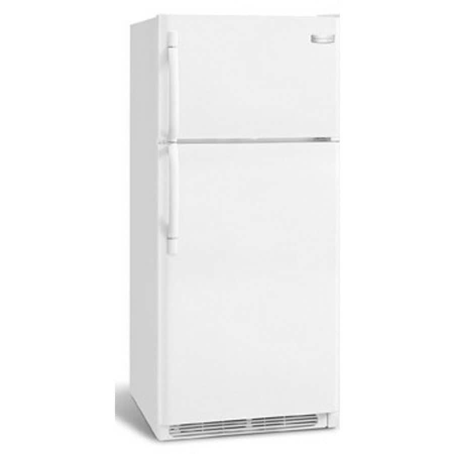Frigidaire 18.2-cu ft Top-Freezer Refrigerator with Single Ice Maker (White)