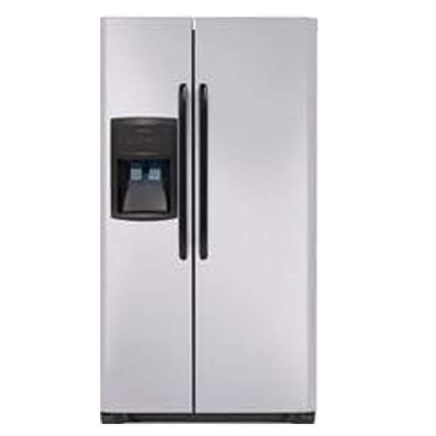 Frigidaire 22.6-cu ft Side-by-Side Refrigerator (Silver Mist) ENERGY STAR