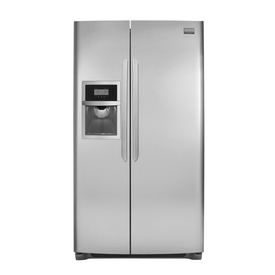 Frigidaire Gallery 22.6 cu ft Side-by-Side Counter-Depth Refrigerator (Stainless Steel) ENERGY STAR