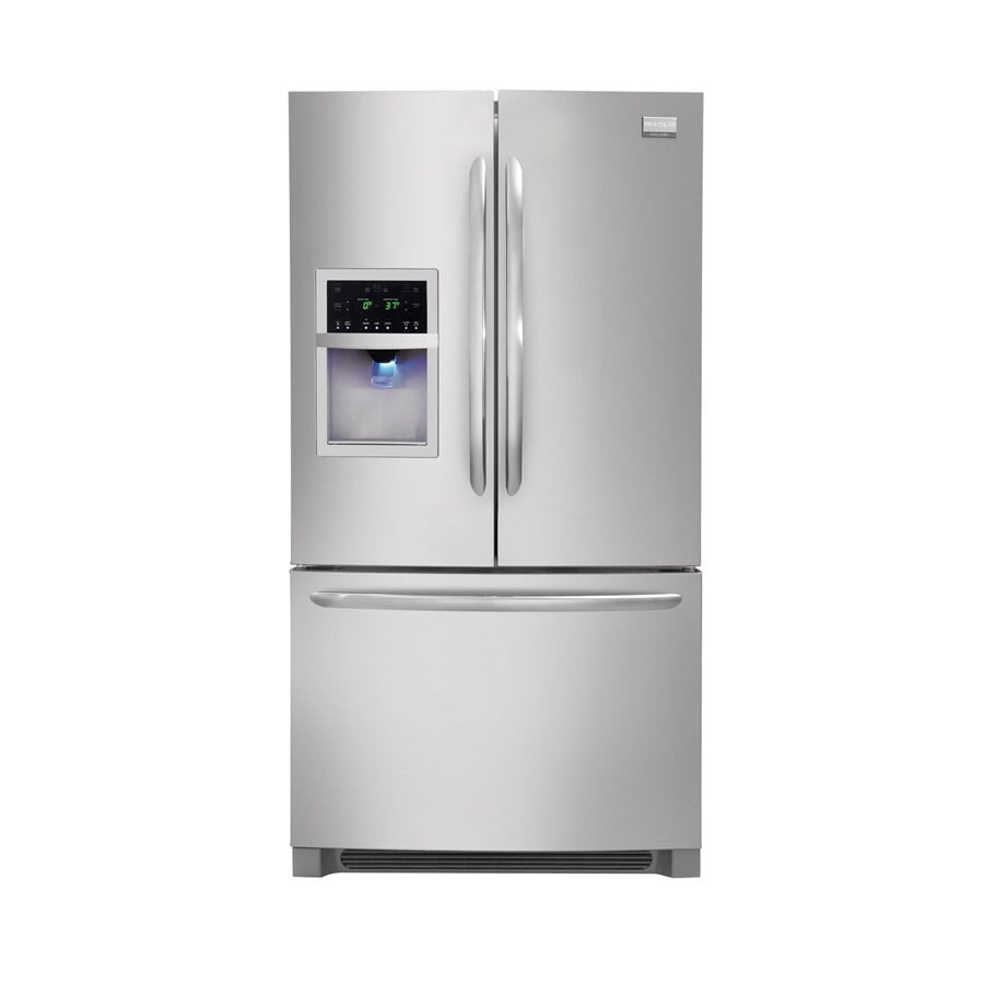 Frigidaire Gallery 27.8-cu ft French Door Refrigerator with Dual Ice Maker (Stainless Steel)