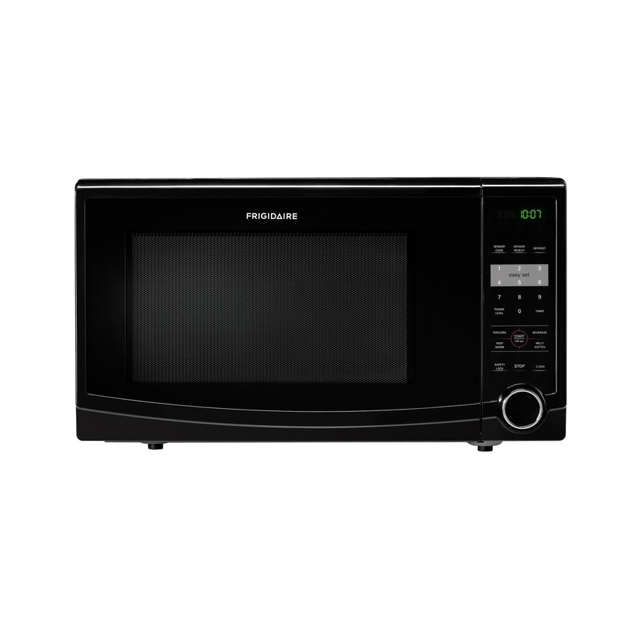 Frigidaire 1.1-cu ft 1,100-Watt Countertop Microwave (Black)