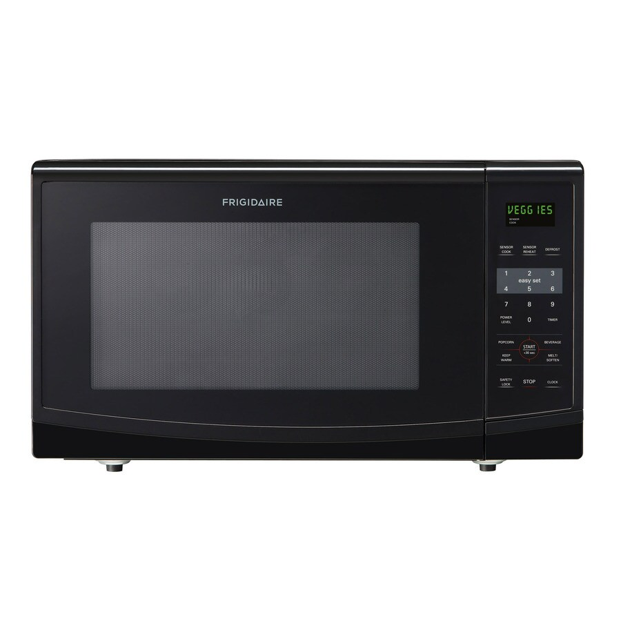 Frigidaire 2.2-cu ft 1,200-Watt Countertop Microwave (Black)