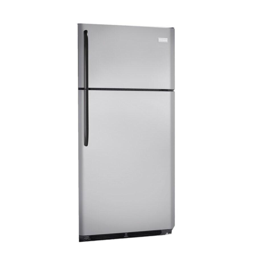 Frigidaire 18.3-cu ft Top-Freezer Refrigerator (Silver Mist) ENERGY STAR