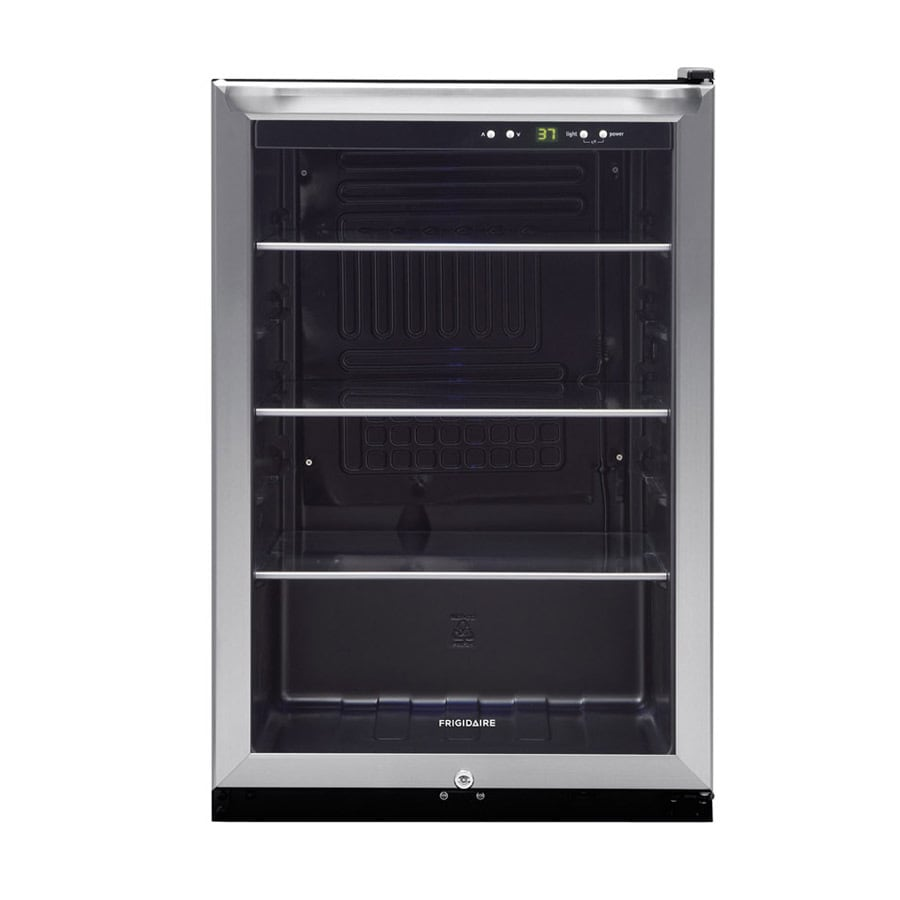 Frigidaire 4.6-cu ft Stainless Freestanding Beverage Center