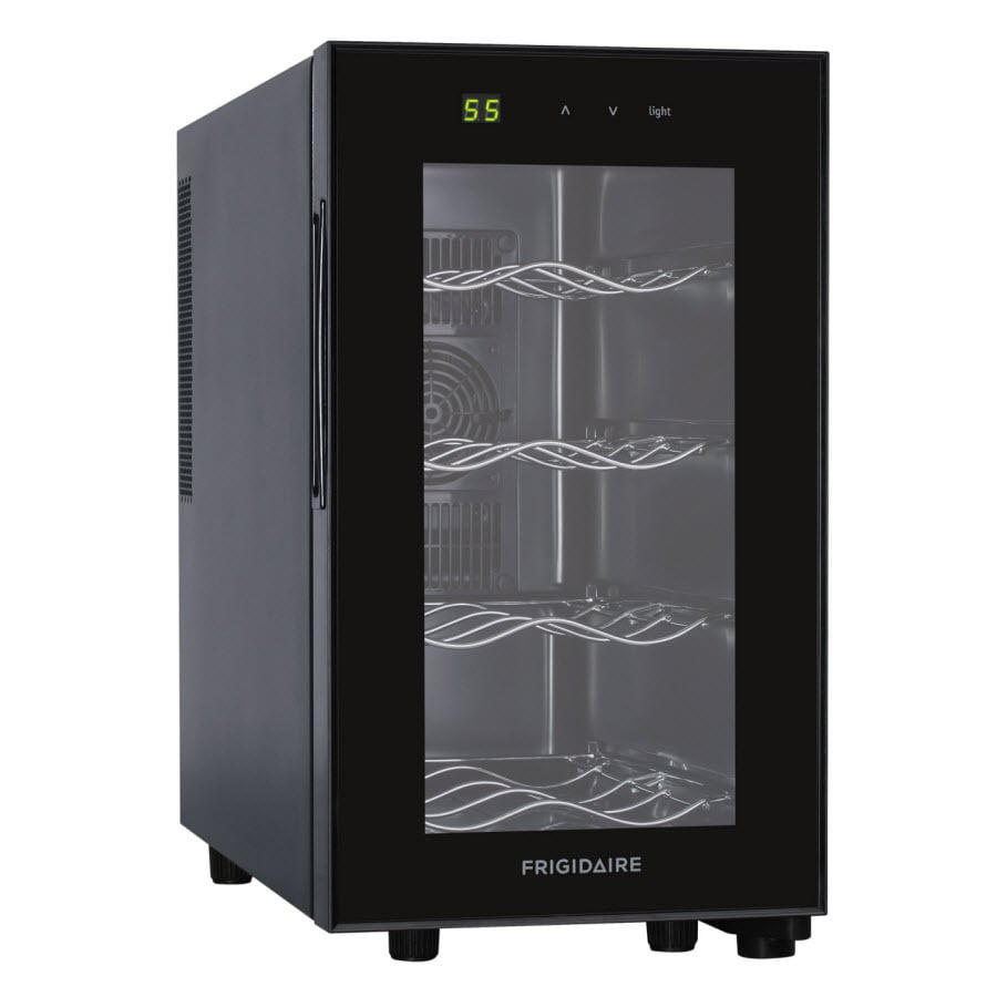 Frigidaire 8-Bottle Black Wine Chiller