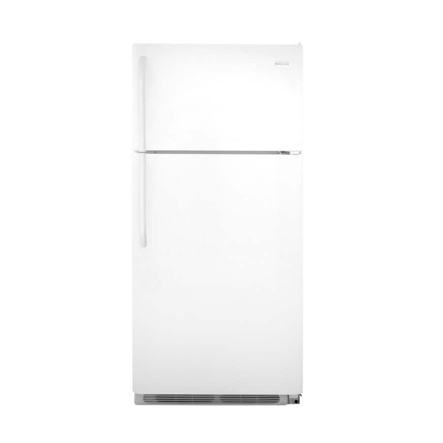 Frigidaire Gallery 18.3-cu ft Top-Freezer Refrigerator (White)