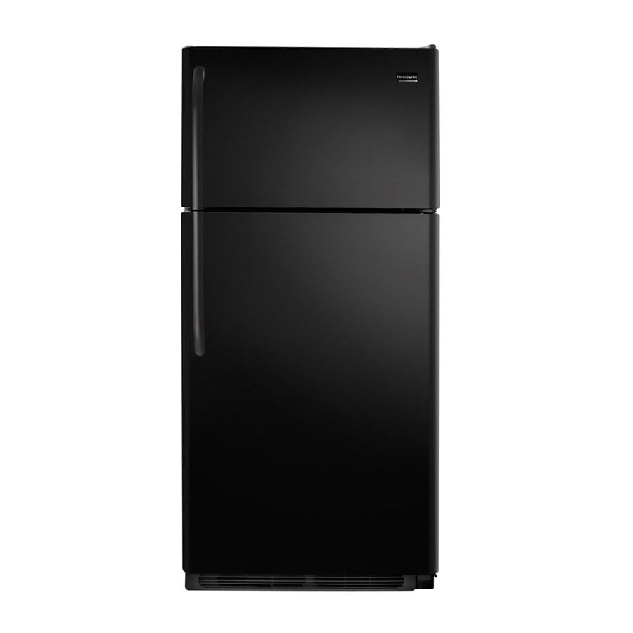 Frigidaire Gallery Gallery 18.3-cu ft Top-Freezer Refrigerator (Black)