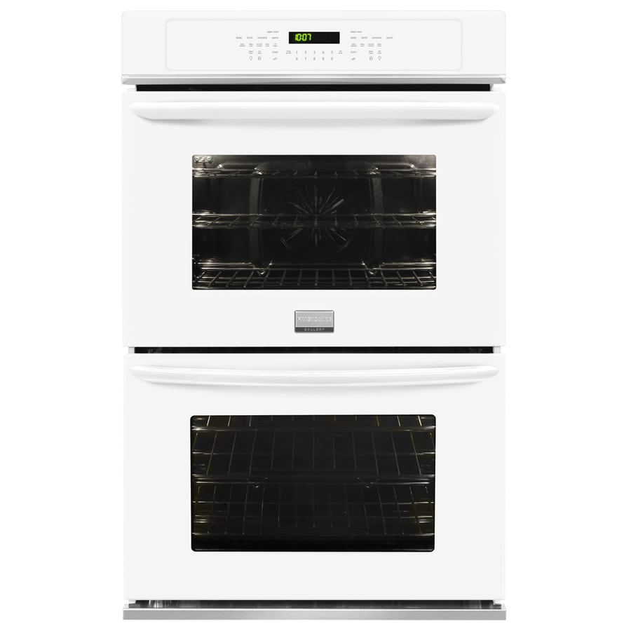 Frigidaire Gallery Self-Cleaning Convection Double Electric Wall Oven (White) (Common: 30-in; Actual: 30-in)