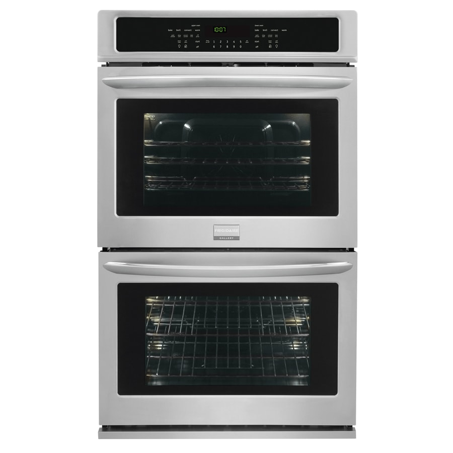 Frigidaire Gallery Convection Single-Fan European Element Double Electric Wall Oven (Smudge-Proof Stainless Steel) (Common: 30-in; Actual: 30-in)