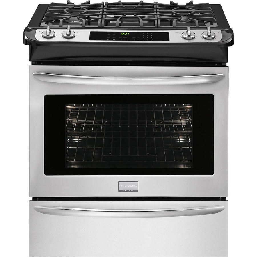 Frigidaire Gallery 4-Burner Convection Single Oven Dual Fuel Range (Stainless Steel) (Common: 30-in; Actual 30-in)