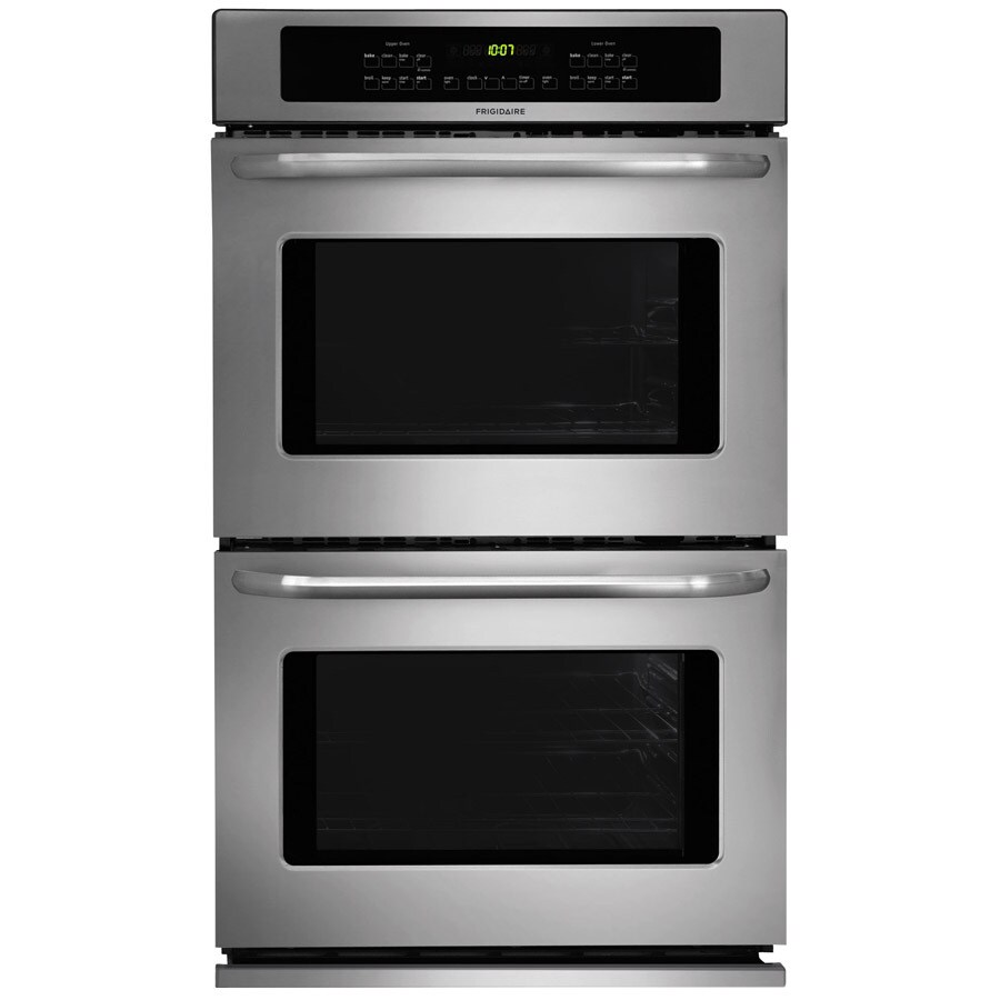 frigidaire double electric wall oven stainless steel common 27