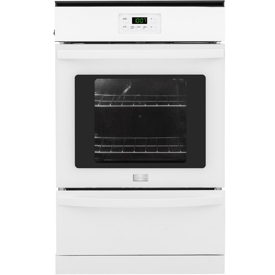 Shop Frigidaire 24 In Single Gas Wall Oven White At
