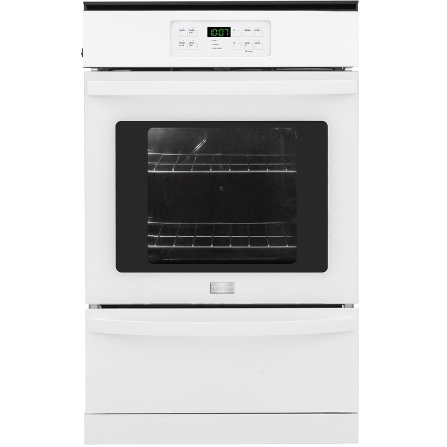 Shop Frigidaire 24 In Self Cleaning Single Gas Wall Oven