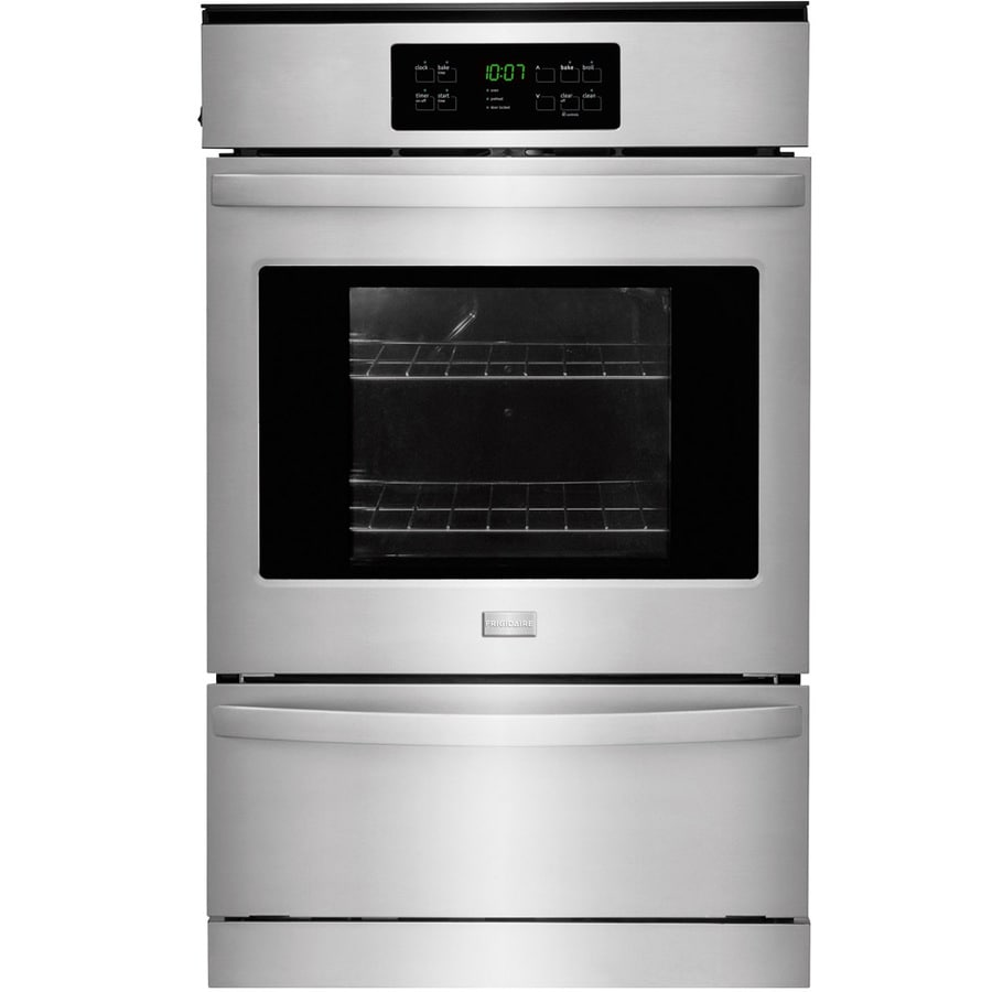 Frigidaire 24-in Self-cleaning Single Gas Wall Oven (Stainless Steel)