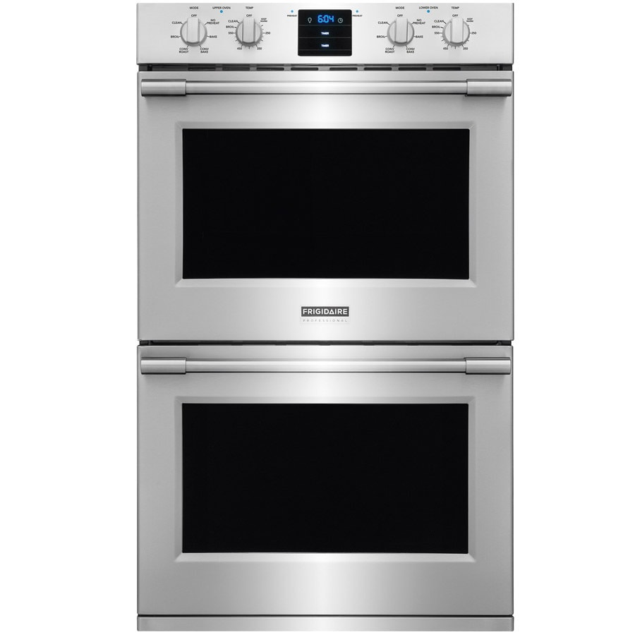 Frigidaire Professional Self Cleaning Convection Double Electric Wall Oven  (Stainless Steel) (Common