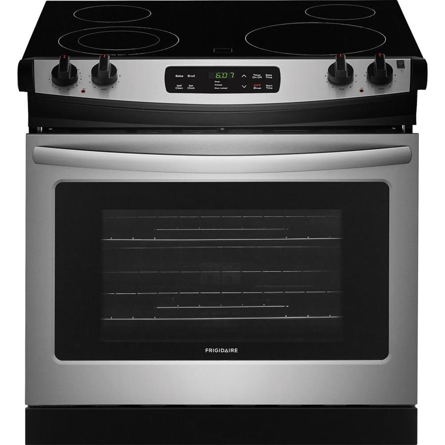 Frigidaire 46 In Smooth Surface 4 Element 6 Cu Ft Self Cleaning